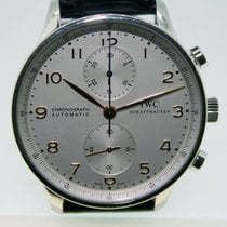 IWC Portuguese Chronograph pre-owned 41mm Steel