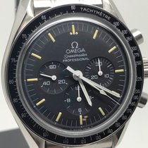 Omega Speedmaster Ocel 42mm Černá Bez čísel