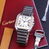 Cartier new Automatic 35.1mm Steel Sapphire Glass