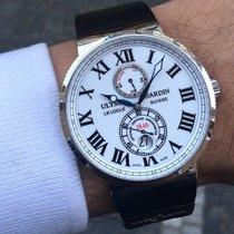 Ulysse Nardin Chronometr 43mm Automatika 2011 použité Marine Chronometer 43mm Bílá