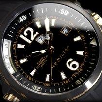 Hamilton Khaki Navy H77575335 Black Gold Automatic ( Harisson...