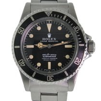 Rolex 5512 Steel Submariner (No Date) 40mm pre-owned