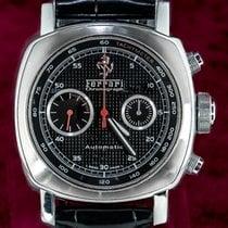 Panerai Chronometer 44mm Automatik gebraucht Ferrari Schwarz
