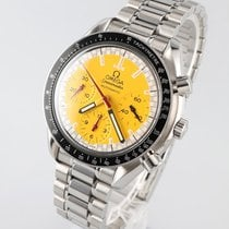 Omega Speedmaster Reduced Steel 39mm Yellow No numerals
