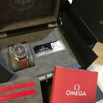 Omega Chronograph 39.7mm Manual winding 2018 pre-owned Speedmaster Professional Moonwatch Black
