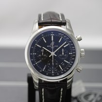 Breitling Transocean Chronograph new Automatic Chronograph Watch with original box and original papers AB015212/BA99