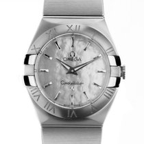 Omega Constellation Quartz 123.10.27.60.05.001 nuevo