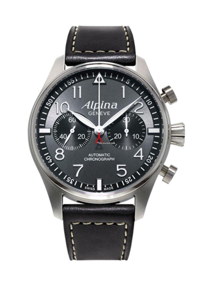 Automatic Startimer 860gb4s6 Alpina Pilot Chronograph Collection Al dhrsCxtQ