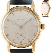 Glycine Yellow gold 34mm Manual winding N/A pre-owned