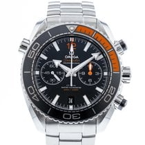 Omega Seamaster Planet Ocean Chronograph Steel 45.5mm Black United States of America, Georgia, Atlanta