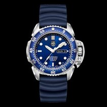 Luminox Deep Dive Steel Blue No numerals