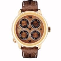 Jacob & Co. Rose gold 47.5mm Automatic GMT7RG new