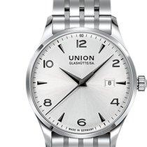Union Glashütte Noramis Date Otel 34mm Argint Arabic