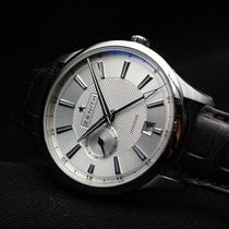 Zenith Elite Dual Time Stahl 40mm
