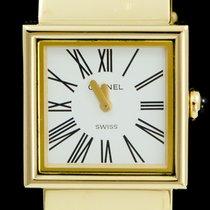 Chanel Yellow gold 23mm White Roman numerals