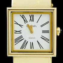 Chanel Or jaune 23mm Quartz Mademoiselle occasion Belgique, Brussel