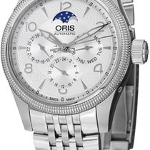 Oris Big Crown Complication Steel Silver United States of America, New York, Brooklyn