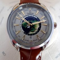 Omega Co-Axial Master Chronometer GMT World Time Aqua Terra -...