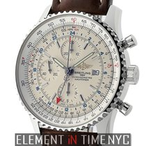 Breitling A2432212/B726 Steel 2005 Navitimer World 46mm new United States of America, New York, New York