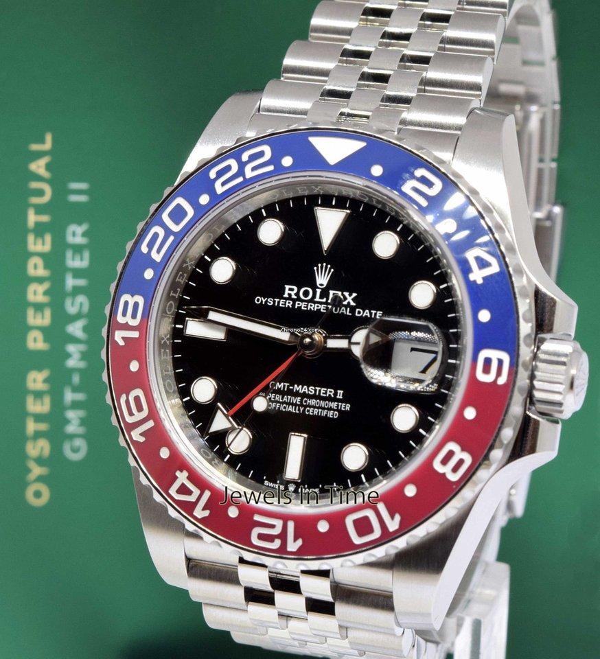 Rolex NEW GMT-Master II Steel &...