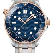 Omega Seamaster Diver 300 M Gold/Steel 42mm