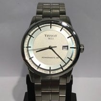 Tissot Luxury Automatic Acero 41mm Plata Sin cifras