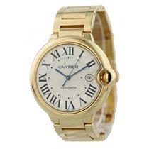 Cartier Ballon Bleu 2998 18k Yellow Gold Mens Watch