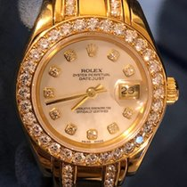 Rolex Lady-Datejust Pearlmaster Yellow gold 29mm No numerals UAE, Dubai