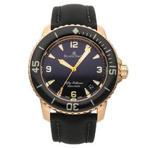Blancpain Fifty Fathoms (Submodel) pre-owned 45mm Rose gold