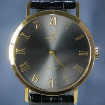 Rolex Cellini Or jaune 32mm Gris Romain