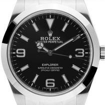 Rolex Explorer Acero 39mm Negro