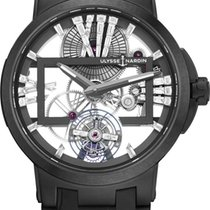 Ulysse Nardin Executive Skeleton Tourbillon Titanium 45mm Transparent United States of America, New York, Airmont