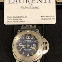 Panerai Luminor Submersible Steel 44mm Blue Arabic numerals