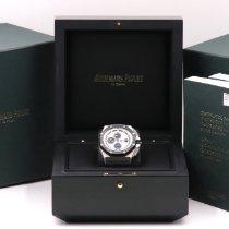Audemars Piguet Royal Oak Offshore Chronograph Acier 44mm Argent Sans chiffres