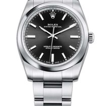 Rolex Oyster Perpetual 34 new 2019 Automatic Watch with original box and original papers 114200-BLACK