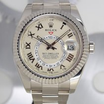 Rolex Sky-Dweller Or blanc 42mm Blanc Romain France, Cannes
