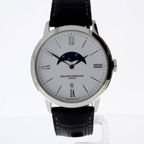 Baume & Mercier Classima steel quartz watch with large...