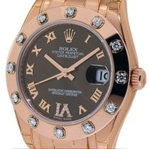 Rolex Lady-Datejust Pearlmaster Rose gold 34mm United States of America, New York, New York