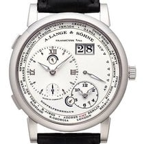A. Lange & Söhne White gold Manual winding Silver (solid) Roman numerals 42mm new Lange 1