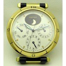 Cartier | Pasha Desk Clock, Gold Plated