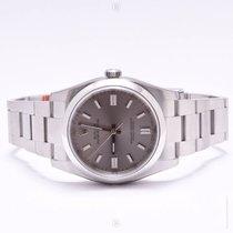 Rolex Oyster Perpetual Rhodium 116000