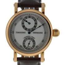 Chronoswiss Grand Regulatuer 18kt Rose Gold Silver Dial On...