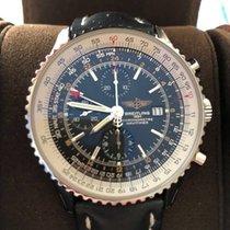 브라이틀링 (Breitling) Breitling Navitimer World Box & Papiere...