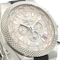 Breitling for Bentley  GMT White Weiss Rubber Kautschuck  B+P...
