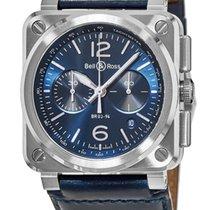 Bell & Ross BR 03-94 Men's Watch BR0394-BLU-ST/SCA