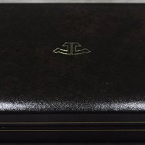 Jaeger-LeCoultre rare vintage brown watch box for memovox and...
