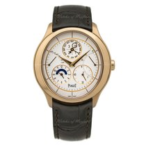 Piaget Gouverneur Rose gold 43mm White