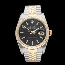 Rolex Datejust Stainless Steel & 18k Yellow Gold Unisex 16233...