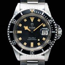 "Tudor 94110 Submariner ""Snowflake"" Black Matte Dial SS BOX +..."