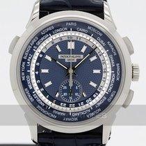 Patek Philippe World Time Chronograph ny 39.5mm Vitguld